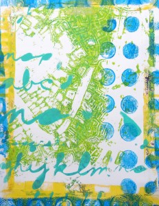 A Colorful Workshop: Gelli Printing with Carolyn Dube