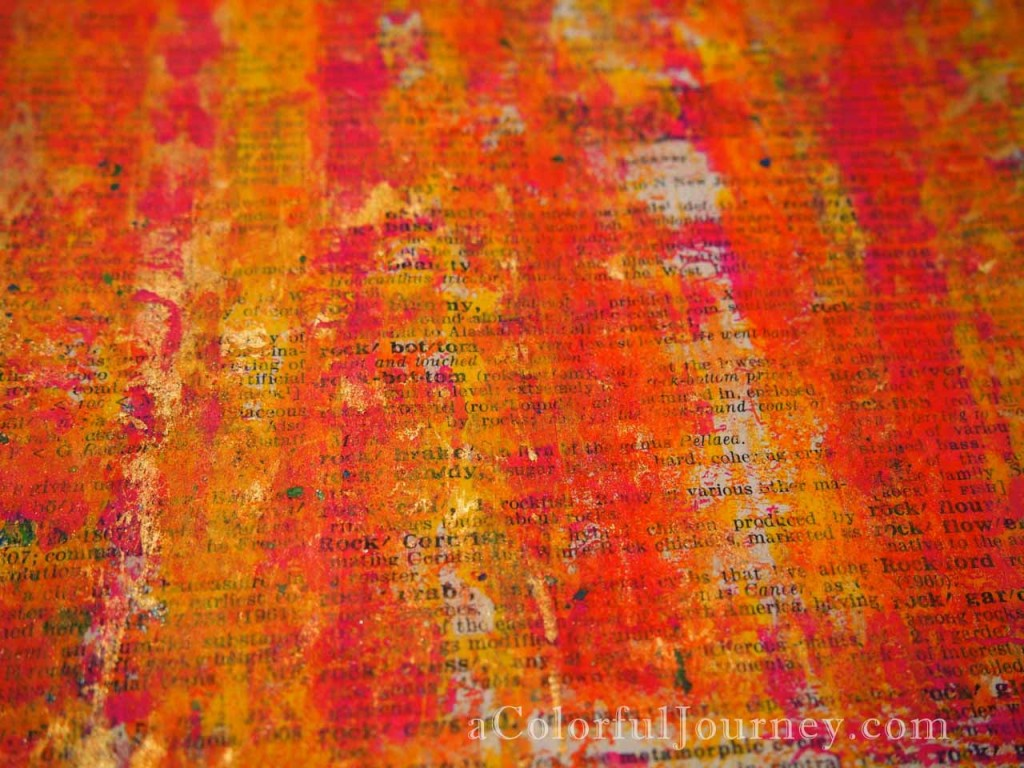 Video and Link Party for May's Colorful Gelli Print Party with Carolyn Dube
