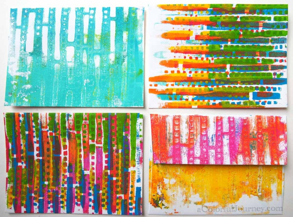 Gelli Printing with Carolyn Dube