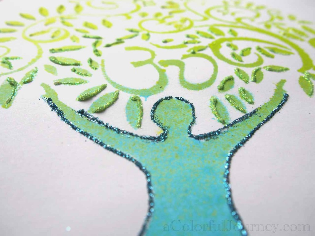 Video tutorial using the Stencil Club stencils from StencilGirl Products with Carolyn Dube