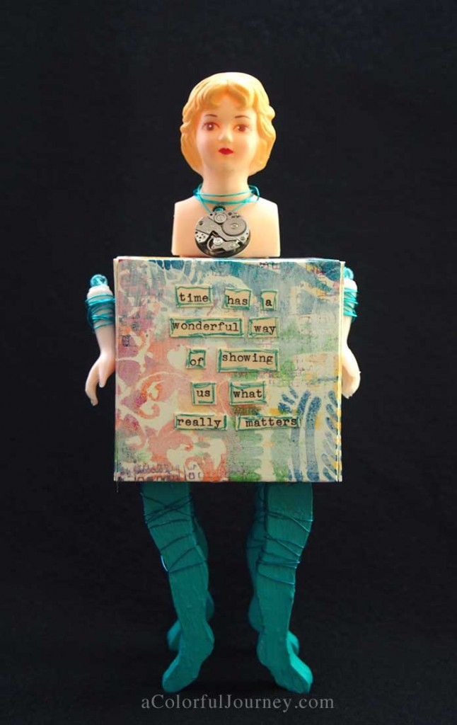 Using Artist Trading Blocks by Eileen Hull for Sizzix by Carolyn Dube