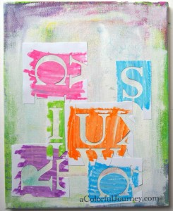 Video playing with the Mixed Media Inspiration Deck with Carolyn Dube