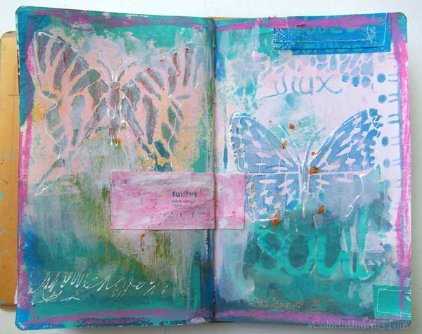 2-butterfly-art-journal-carolyn-dube-600