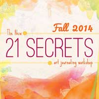 21 Secrets Fall Art Journaling Workshop