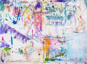 Liquitex Spray Paints and a Stencil Test Drive with Carolyn Dube