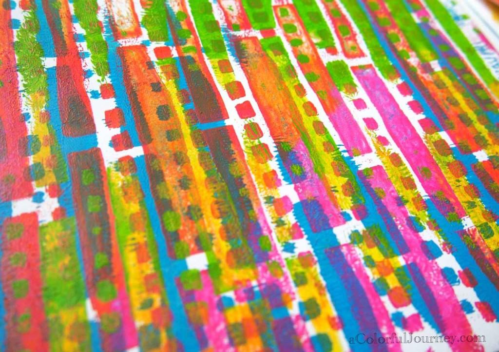 Gelli Printing with Carolyn Dube
