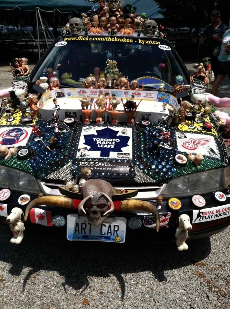 The Art Car at Summerfair