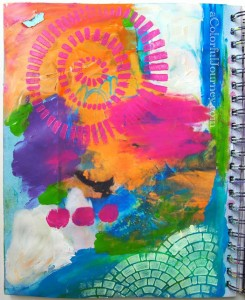 Art Journaling without Fear with Carolyn Dube