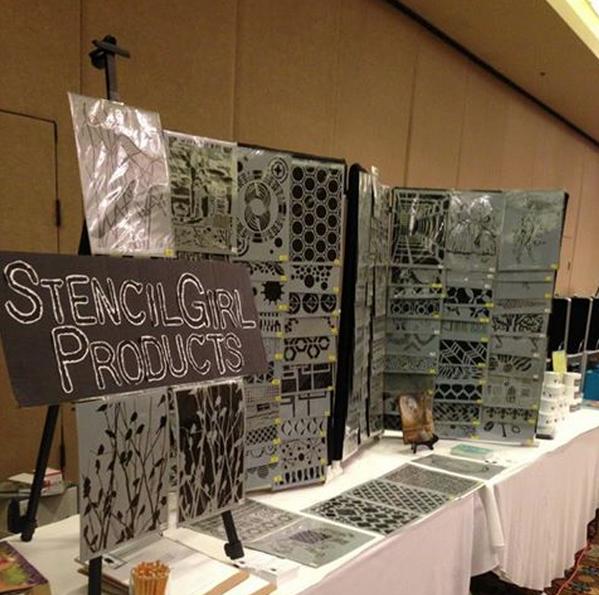 StencilGirl Booth!