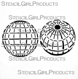 Mary Nasser's stencil for StencilGirl Products