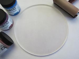 Round Gelli Plate