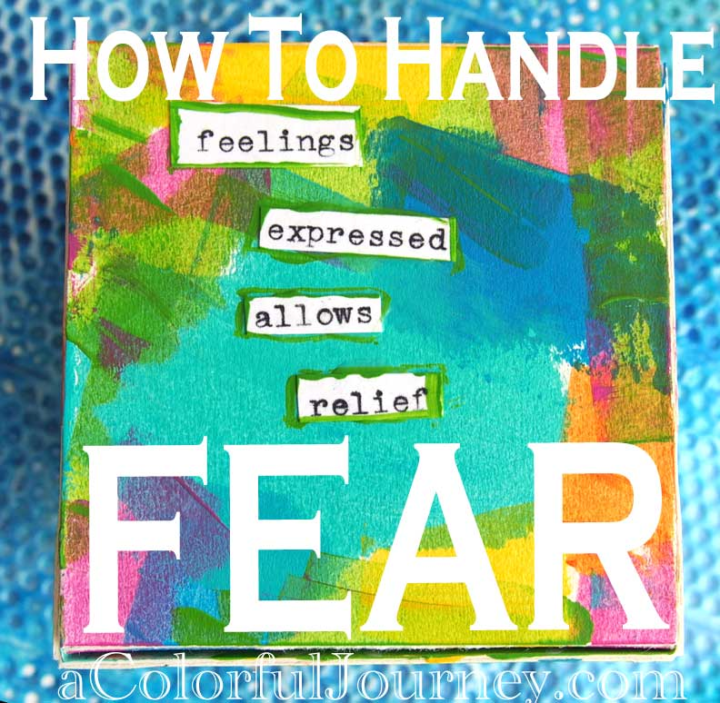 Video tutorial showing how to handle fear with Carolyn Dube