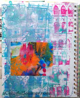 My Knock Down Drag Out  Battle for White Space step by step with Carolyn Dube