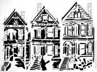 stencil-trio-houses-carolyn-dube