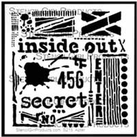 seth apter's stencil called inside out