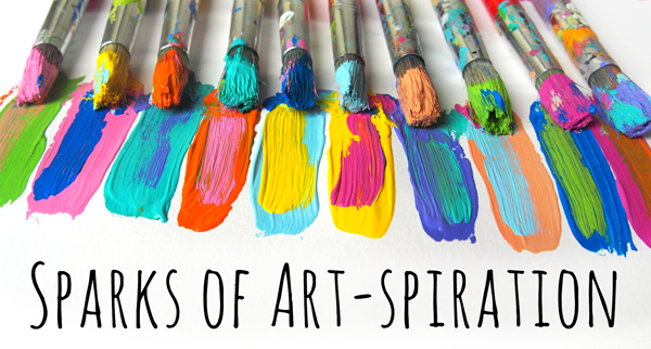 Spark of Art-spiration from Carolyn Dube