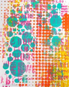 Gelli Play 1 Pull Wonders Workshop with Carolyn Dube