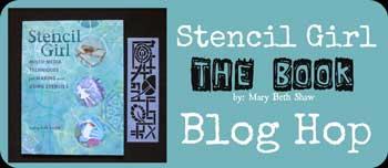 Stencil Girl The Book Blog Hop