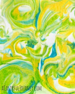 Magically Marbled Papers Workshop at Artiscape with Carolyn Dube