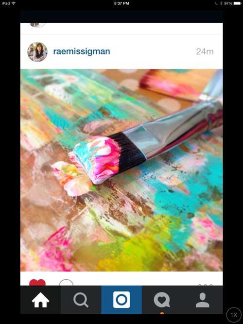 How I used social media to inspire my art play