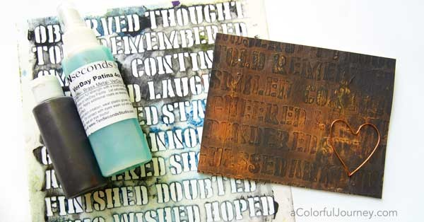 Have you tried verday paint and patina to make rust malvernweather Choice Image