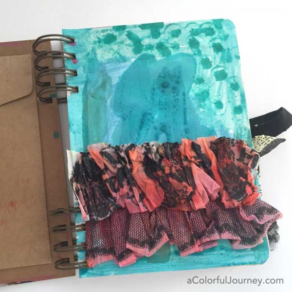 Video sharing how I get over the urge to hoard supplies - playing with Heidi Swapp mistables and a Prima art journal for this week's Let's Play link party!