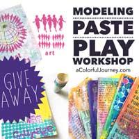 Modeling Paste Play Workshop giveaway!