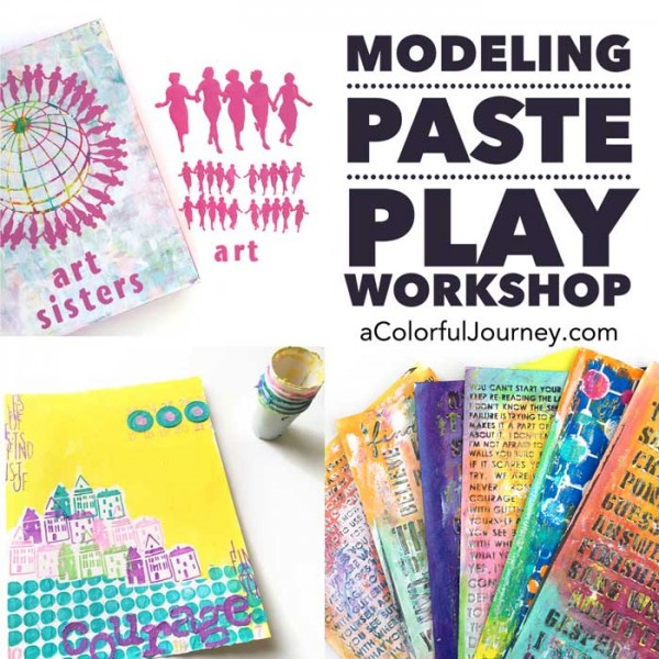 Modeling Paste Play Workshop giveaway!
