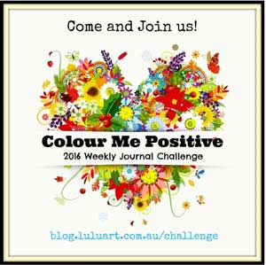 Color Me Positive Art Journal Challenges