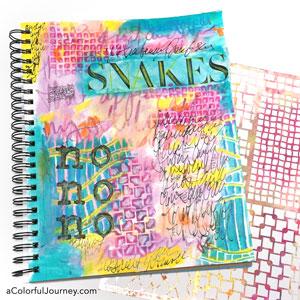 How art journaling helped me process my feelings