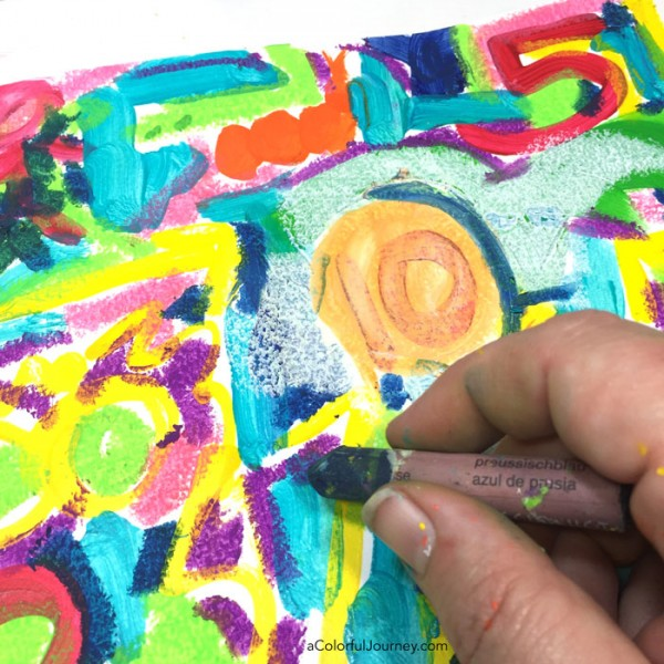 In this art journaling video, I prove beyond a shadow of a doubt that drawing skill is not a prerequisite of having fun while playing!