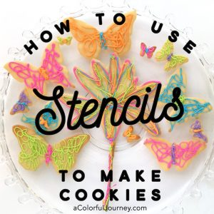 How to Use Stencils to Make Butterfly Cookies thumbnail