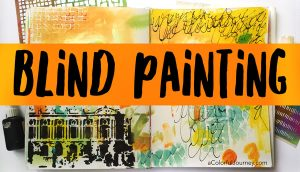Blind Painting in my Art Journal thumbnail