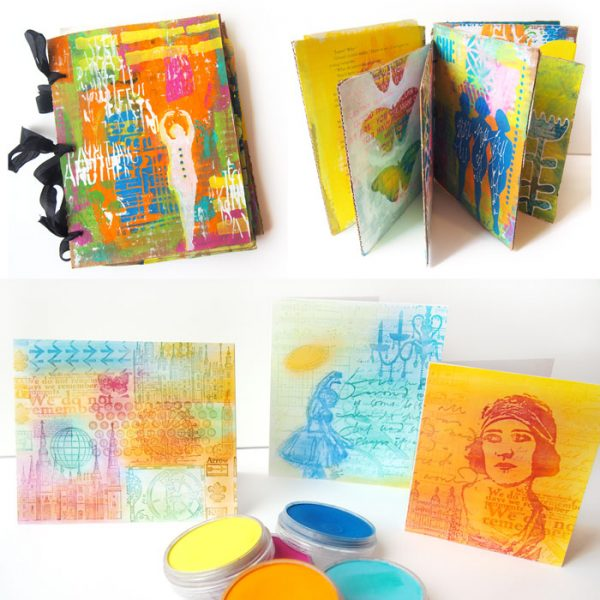 PanPastels and Art Journaling Workshops with Carolyn Dube