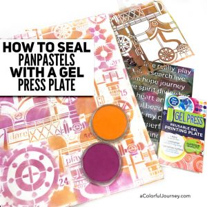 How to Seal PanPastels with a Gel Press Plate thumbnail