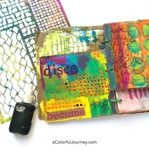 How Disco Helped Me Deal with an Ugly Art Journal Page thumbnail