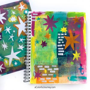 Art Journal Play Inspired by Matisse thumbnail