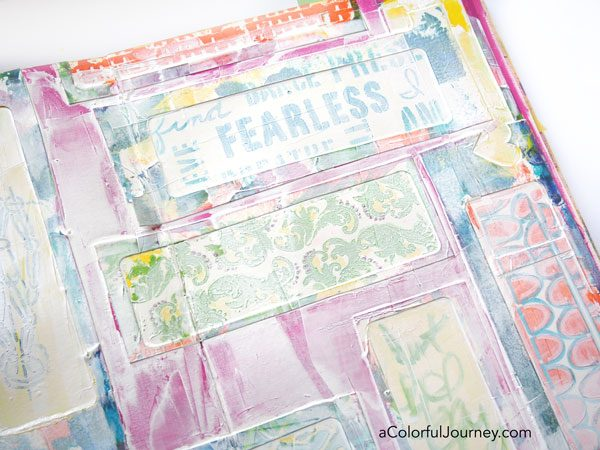 I had a no fail plan for my art journal that failed...OOPS by Carolyn Dube