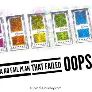 OOPS…A No Fail Plan that Failed or Did it? thumbnail