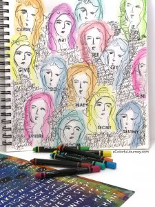 Women of the Rainbow with Scribble Sticks thumbnail