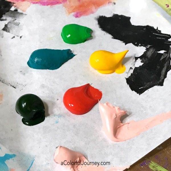 How I got my creative mojo back using my least favorite color