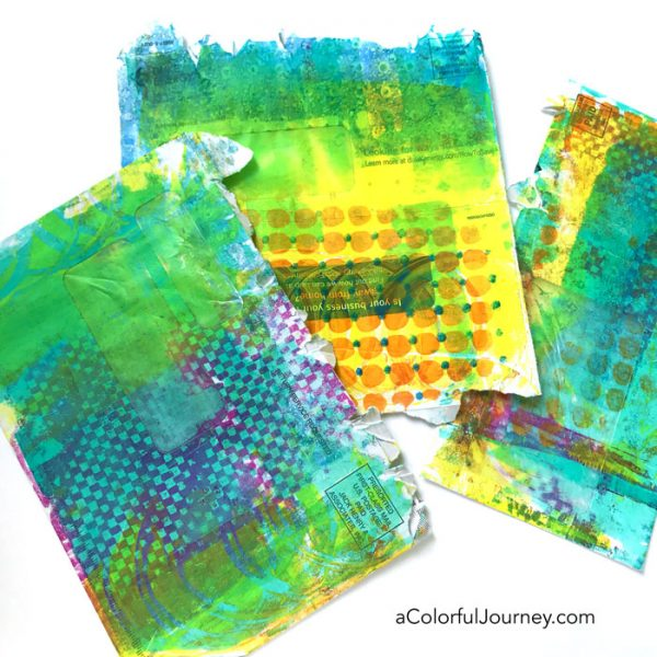 The DOs and DON'Ts of Gel Printing video by Carolyn Dube