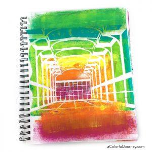 Art Journaling the Rainbow Room thumbnail