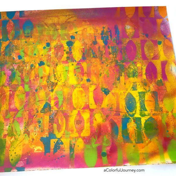 3 Reasons why I Use Liquitex Spray Paints by Carolyn Dube