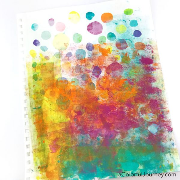 Speckles and Spots stencil by Carolyn Dube at StencilGirlProducts.com