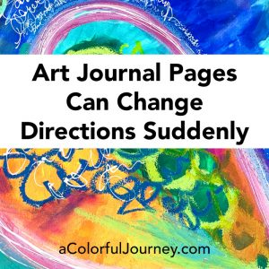 Art Journal Pages Can Change Directions Suddenly thumbnail