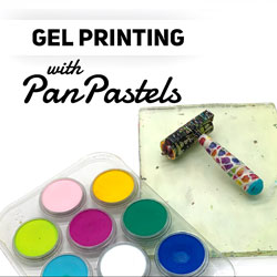 Gel Printing with PanPastels thumbnail