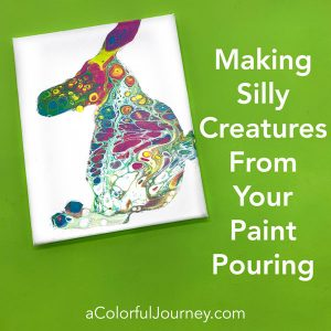 Making Silly Creatures from Your Paint Pouring thumbnail