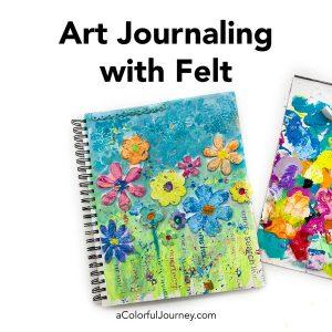 Art Journaling with Felt thumbnail