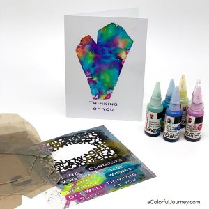 Alcohol Inks on Mica thumbnail